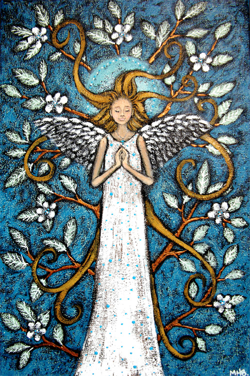 folk art angel tree blanchett